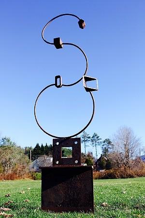 "COURTESY OF GERALD K. STONER - ""Court Jester,"" sculpture by Gerald K. Stoner"