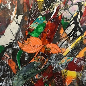 "COURTESY OF CHAFFEE ART CENTER - ""Impermanence"" by Mary Fran Lloyd"