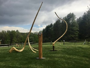 """COURTESY OF SCULPTUREFEST - """"The Dance of Ideas"""" by Herb Ferris"""