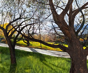 """Apple Trees"" by Elizabeth Nelson - Uploaded by Judy dales"