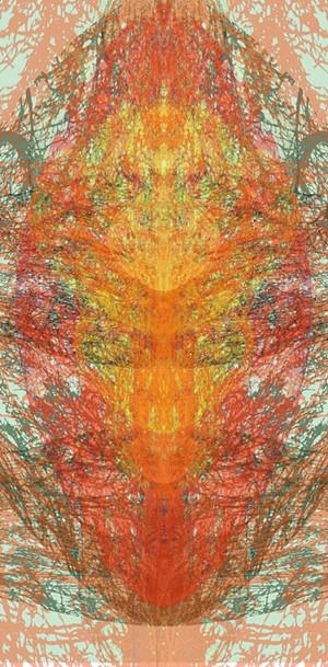 """Botanical Ornament 5"" by Patty Hudak - Uploaded by Kyle Nuse"