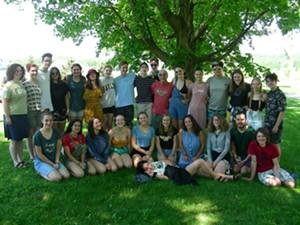 COURTESY OF VILLAGE HARMONY - Village Harmony Teen World Music Ensemble
