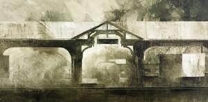 "COURTESY OF BMAC - ""St. David's Station"" by Charlie Hunter"