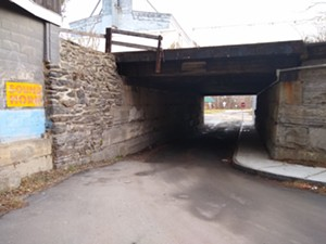 "COURTESY OF CATAMOUNT ARTS - ""Honking tunnel"""