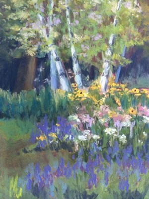 COURTESY OF FROGS END STUDIO - Pastel by Debba Pearce