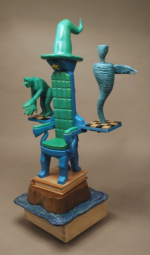 Sculpture by Rob Millard-Mendez - Uploaded by Studio Place Arts