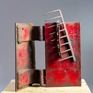 COURTESY OF STATE CURATOR - Sculpture by Cindy Blakeslee