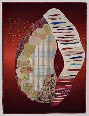 "COURTESY OF MINEMA GALLERY - ""Seedpod XI"" by Marya Lowe"