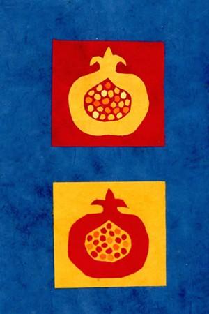 """COURTESY OF KRISTEN JOHNSON - """"Pomegranate Blue"""" by Kristen Johnson"""