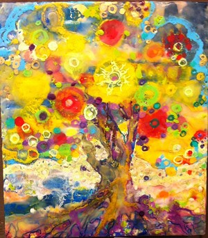 COURTESY OF BETH KENDRICK - Painting by Beth Kendrick