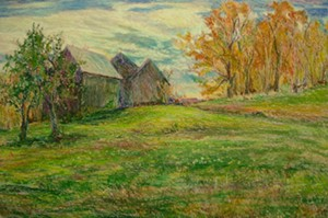 "COURTESY OF SUE LENFEST - ""Carriage House and Corn Barn,"" Sue Lenfest"