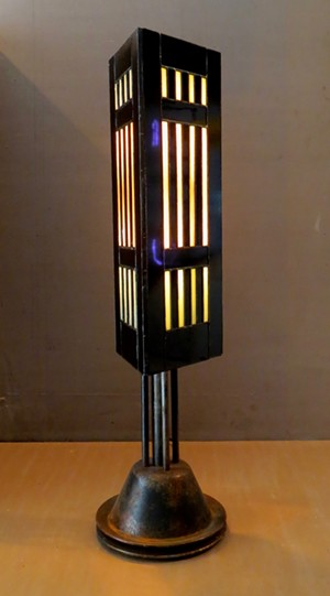 COURTESY OF JACKSON GALLERY - Lamp by Michael Hart