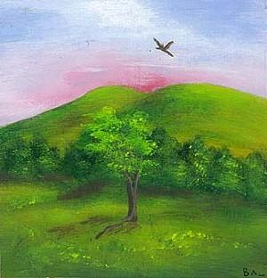 "COURTESY OF T.W. WOOD GALLERY - ""Birds"" by Barbara Leber"