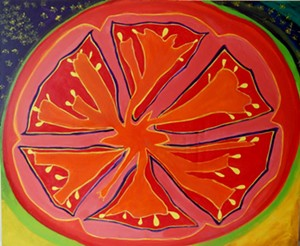 "COURTESY OF NORTHEAST KINGDOM ARTISANS GUILD - ""Slice"" by Kelly Doyle"