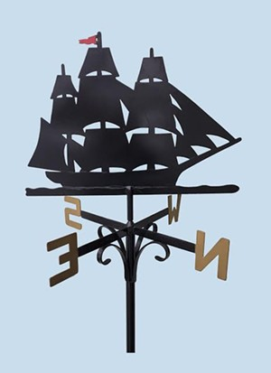 COURTESY OF BRANDON ARTISTS GUILD - Weathervane by Dick Kirby