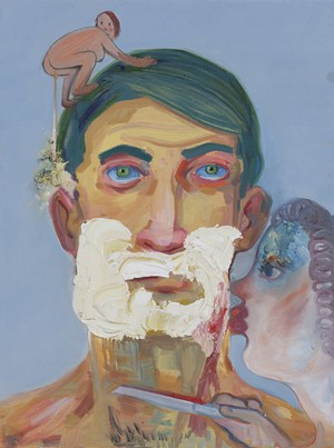 "COURTESY OF HALL ART FOUNDATION - ""Little Shaver"" by Nicole Eisenmann"