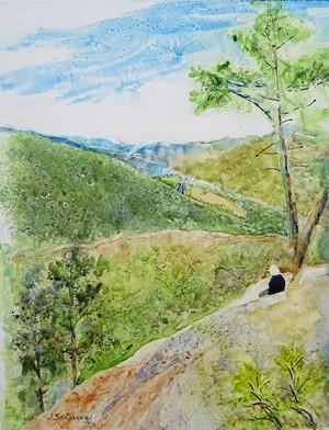 "COURTESY OF JANE SANDBERG - ""Camel's Hump View"" by Jane Sandberg"