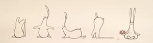 """COURTESY OF AXEL'S GALLERY & FRAME SHOP - """"Yogi Bunny"""" by Michael J. Balzano"""