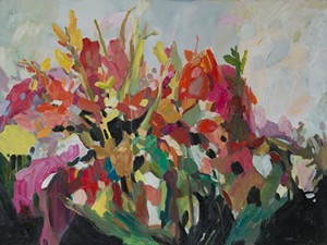 """COURTESY OF EDGEWATER GALLERY - """"Tangled Garden"""" by Donna Andreychuk"""