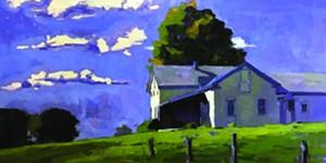 "COURTESY OF EDGEWATER GALLERY - ""Big Dog"" by Scott Addis"