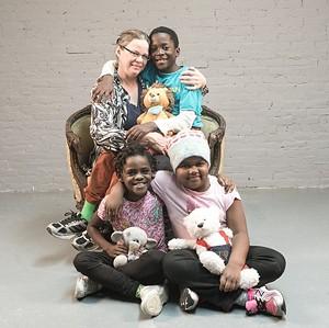 COURTESY OF MICHELLE SAFFRAN - Family portrait by Michelle Saffran