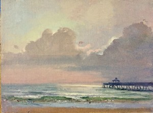 "COURTESY OF BRYAN MEMORIAL GALLERY - ""Deerfield Beach, Florida"" by Karen Winslow"