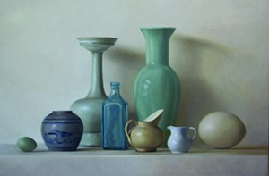 "COURTESY OF EDGEWATER GALLERY - ""What You Don't Know"" by Kate Gridley"