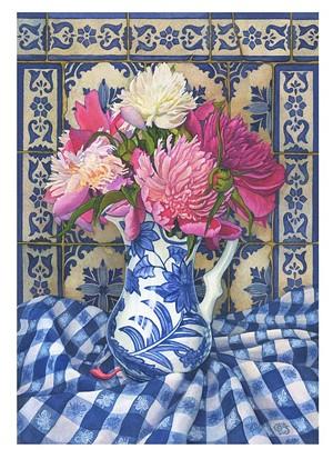 COURTESY OF GINNY JOYNER - Untitled painting by Ginny Joyner