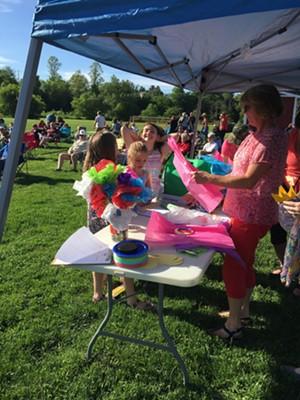 COURTESY OF RIVER ARTS - Art Tent, Morrisville