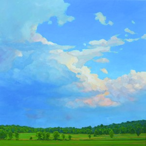 """COURTESY OF EDGEWATER GALLERY - """"Reaching Above Rumi's Field"""" by Rory Jackson"""