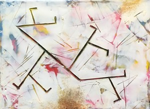 COURTESY OF AXEL'S GALLERY & FRAME SHOP - Untitled work by Kathy Stark