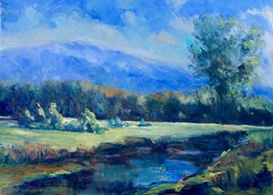 "COURTESY OF NORTHERN VERMONT ARTIST ASSOCIATION - ""River's Edge"" by Janet Bonneau"