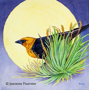 "COURTESY OF BRYAN MEMORIAL GALLERY - ""Song of Summer"" by Jeanette Fournier"