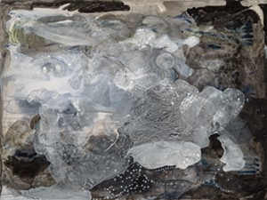"COURTESY OF RIVER ARTS - ""Black Beach"" by Liz Nelson"