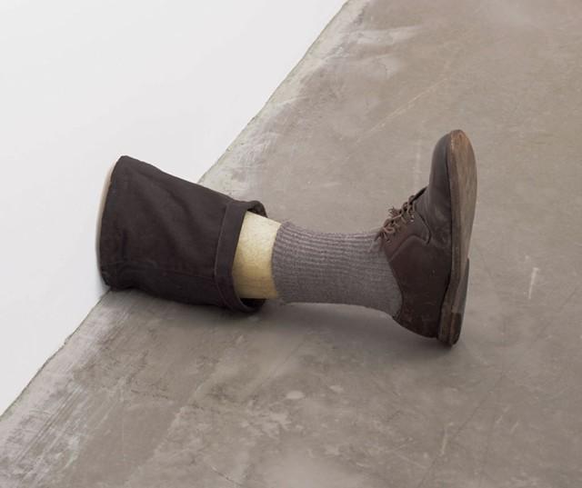 """Untitled Leg"" by Robert Gober"