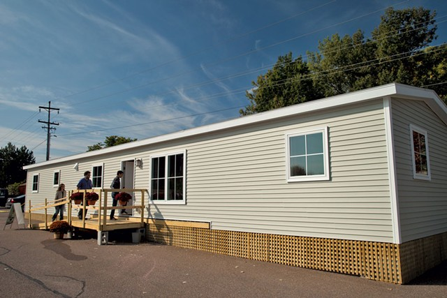 Vermod home on display at Burlington's  Innovation Center - MATTHEW THORSEN