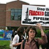 Vermont Gas Pipeline Protester Arrested After Chaining Herself to HQ