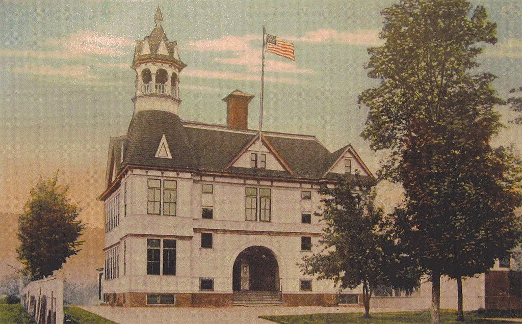 Vermont Law School in South Royalton - COURTESY OF BETHEL HISTORICAL SOCIETY