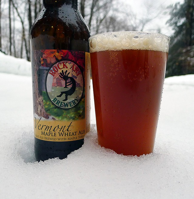 Vermont Maple Wheat Ale - CORIN HIRSCH