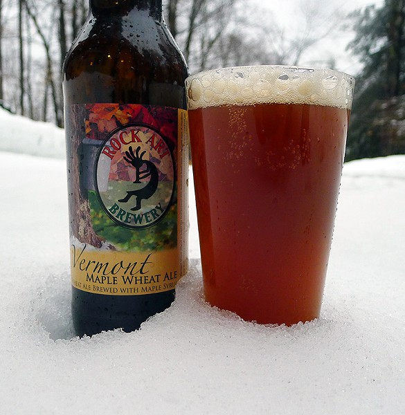 Vermont Maple Wheat Ale - CORIN HIRSCH