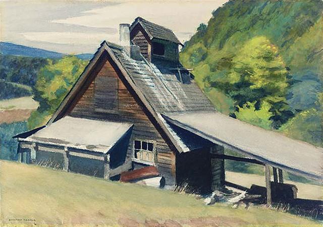 """""""Vermont Sugar House,"""" 1938"""
