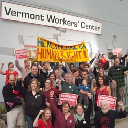 Vermont Workers' Center members