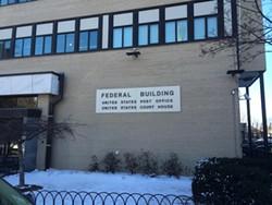 U.S. District Court in Burlington. - MARK DAVIS