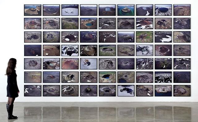 """volcano series"" by Olafur Eliasson - COURTESY OF HALL ART FOUNDATION"
