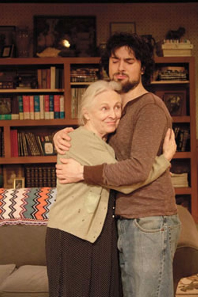 Waltrudis Buck as Vera, and Willy McKay as her grandson Leo