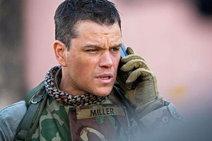 WAR OF WORDS Damon phones it in as a soldier in search of WMDs in Greengrass' preachy, speechy rehash of recent history.