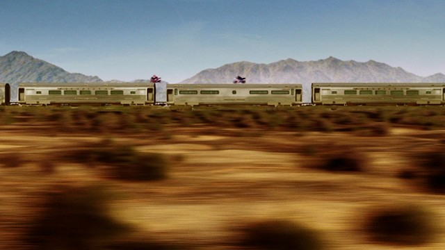 Well, it's faster than merely walking from one train car to another. - WARNER BROS. PICTURES