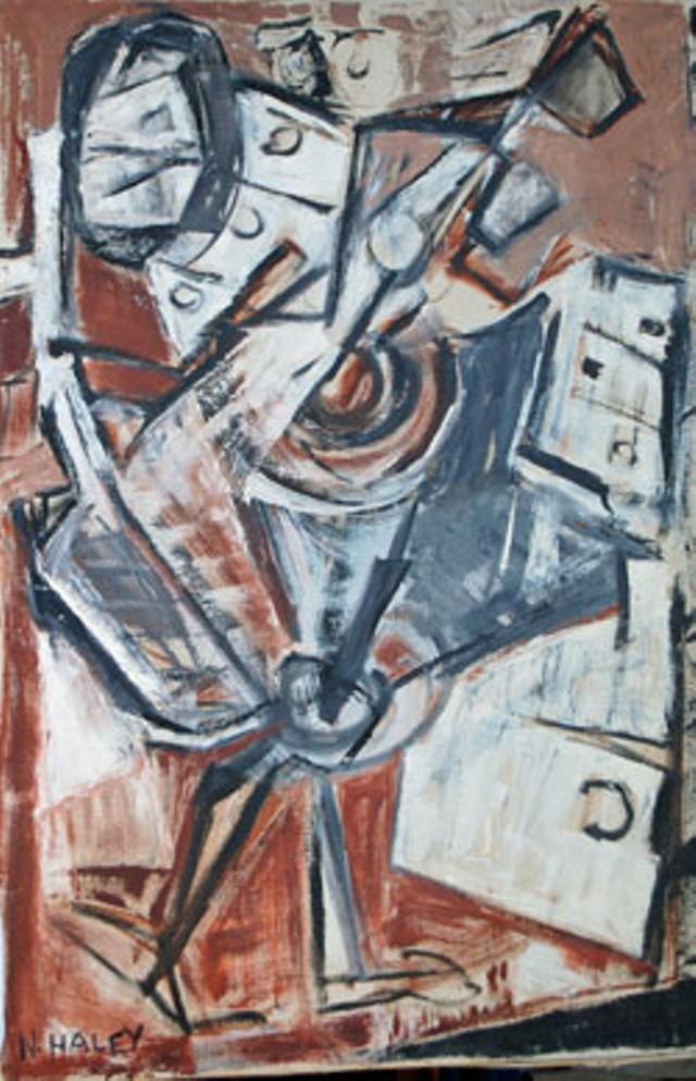 """""""White Bureau,"""" by Nelda S. Haley"""