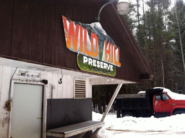 Wild Hill Preserve meat-processing building