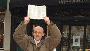 A Sidewalk Preacher Battles Burlington  for the Right to Shout the Gospel on Church Street
